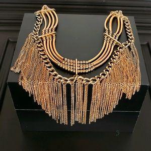 Vintage Chain Choker Necklace